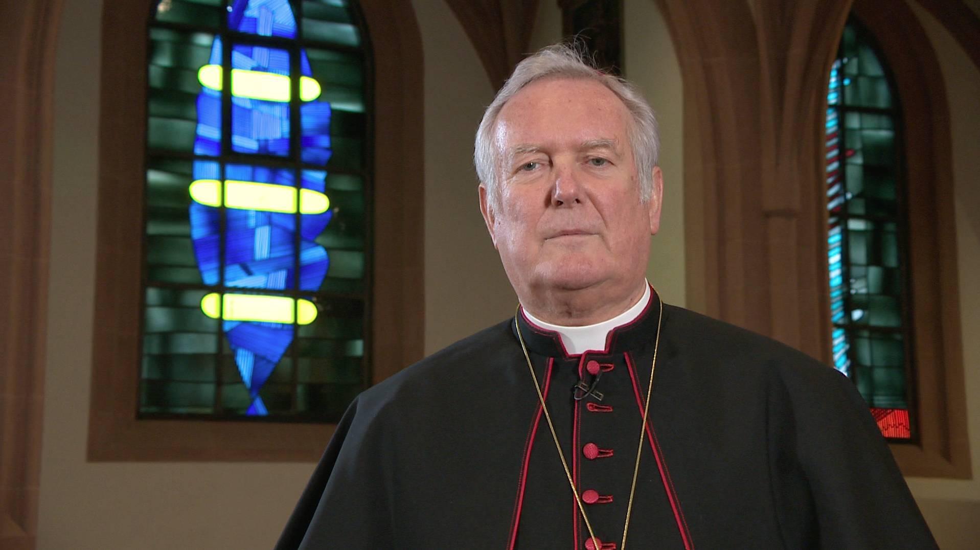 Weihnachtsbotschaft des Bischofs bei TV touring